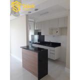 Apartamento Novo À Venda Em Jundiaí, No Residencial Trentino, Andar Alto, Com 50m² De Área Útil, - Ap01435