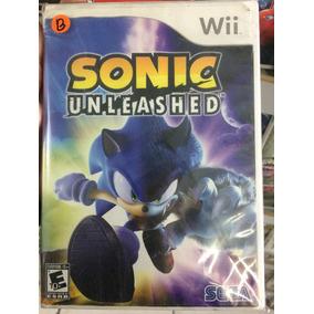 Jogo Nintendo Wii Sonic Unleashed