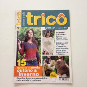 Revista Arte Com As Mãos Tricô Poncho Bolero Xale N°04