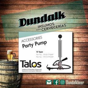 Party Pump Con Conector G Y Canilla Plástica Fact A / B