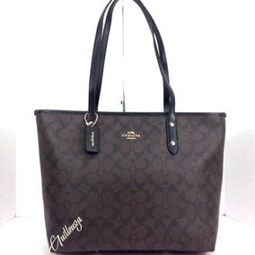 Bolsa Coach City Zip Tote Monograma