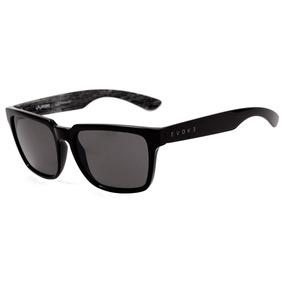 Evoke Evk 23 - Óculos De Sol Wd02 Black Shine Gray Wood  Gra 67646cc707