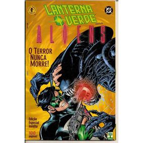 Lanterna Verde X Aliens / Dark Horse / Ed Abril