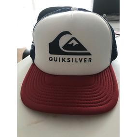 Gorra Quiksilver Blanco Hueso Nueva - Ropa y Accesorios en Mercado ... 9e92f038a34