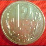 Locha 12 1/2 Céntimos De 2007 Excelente Bs. 800._