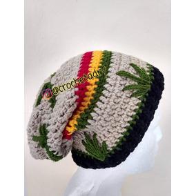 Gorro Cannabis Crochet
