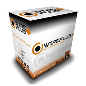 Cable Utp Cat 6 Bobina 305 Metros Marca Wireplus+ Cat6