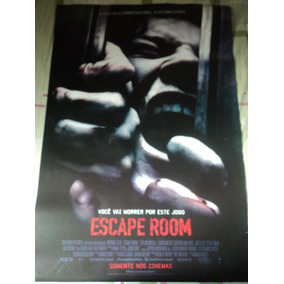 Poster:cartaz:escape Room:original:cinema:93cm X 64cm