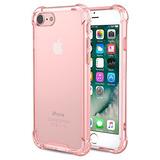 Para iPhone 7 Funda iPhone 8 Funda Moko Crystal Clear Amort
