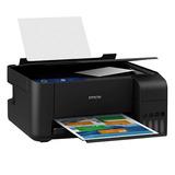 Impresora Epson L3110 Multifuncion Sistema Continuo + Tinta