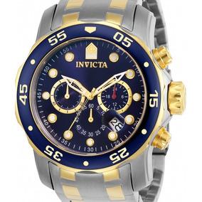 Relógio Invicta Pro Diver 0077 Original Prateado