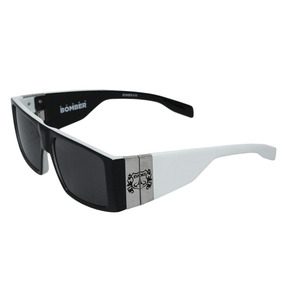 250c23415 Oculos De Sol Evoke Preto Astes Preta E Branca Ac.troca - Óculos no ...