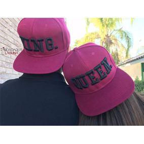 Paquete Gorras King Queen Bordadas 56d99c61672