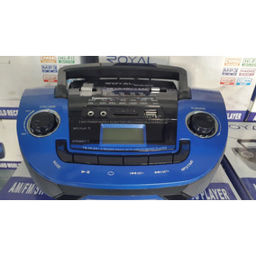 Corneta Portatil Recargable Royal Usb Aux Sd Fm Am