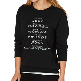 Sudadera Para Mujer Serie Tv Friends Joey, Rachel, Ross Etc.