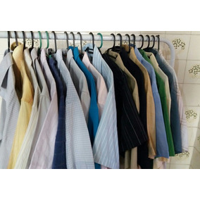 Lote 15 Camisas Social Mangas Curta Atacadista Frete Gratis