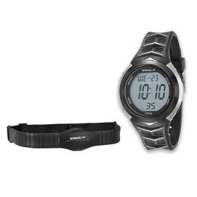 Kit Relógio Masculino Digital Com Cinta Monitor Cardíaco