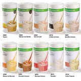 Kit 03 Shakes Herbalife 550 G + Chá Concentraded 100g