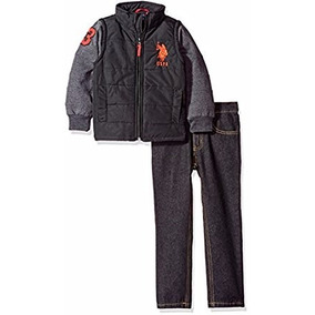 b1c31ef609354 Casaco E Calça Jeans Infantil Polo Ralph Lauren - Original