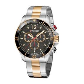 Relógio De Pulso Suíço Wenger Seaforce Cronógrafo 01.0643113