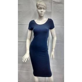 Vestido Azul Marino Dama,