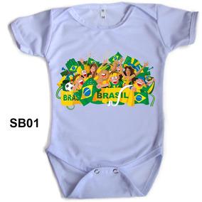 Roupa Bebe Copa - Bodies Manga Curta de Bebê no Mercado Livre Brasil cfe0d4d7096e7