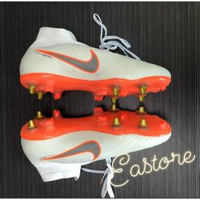 02dc6da9ed Chuteira Nike Mercurial Superfly 360 Laranja Cano Baixo - Chuteiras ...