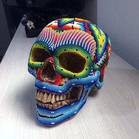 Calavera Con Lentejuela Para Halloween En Mercado Libre México