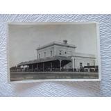 5498-postal Antigua Gral. Acha Est. Ferrocarril- Gobbi