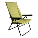 Cadeira Alfa Verde 4 Posições Com Porta Copos - Mor