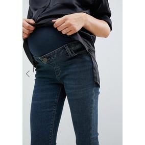 Jeans Maternidad Para Mujer Dama Embarazada Marca Asos a654a5cd82b