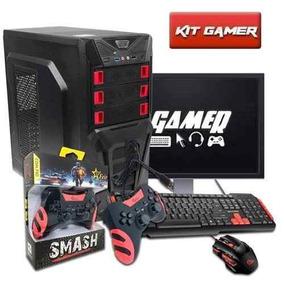 Pc Completo Gamer Cpu Intel Core I5 ,16gb, Gtx 1050, Lcd 19