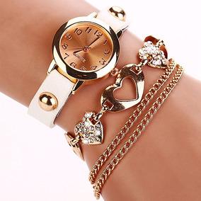 Couro De Luxo Relógio De Pulso Mulheres Vestido De Designer