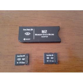 Adaptador Memory Stick Micro Adapter Sandisk M2 1gb /512mb
