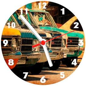 0676d54bd35 Relógio Parede Carro Clássico Vintage Antigo Opala 30 Cm