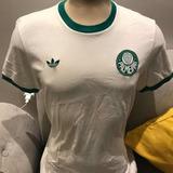 Camisa Do Palmeiras adidas Originals Branca