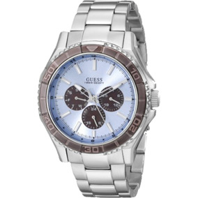 Relógio Masculino Guess Multifunção 92564g0gsna1 Prata
