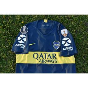 Camiseta Boca Juniors 2018 2019 Titular Copa Libertadores