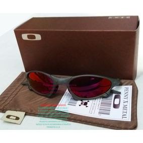 Oculos Penny Xmetal Fosco Lente Vermelha Dark Ruby U.s.a 89176ca2d4