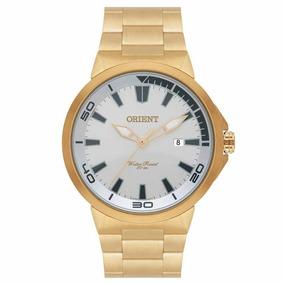 Relógio Orient Masculino Dourado Mgss1104a S1kx + Nf