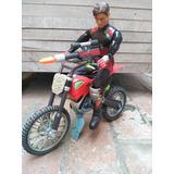 Juguete Max Steal Motociclista