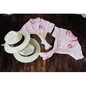 Kit Country Feminino Mangalarga 2 Camisas + 2 Chapéus Oferta bd49bc7e82f