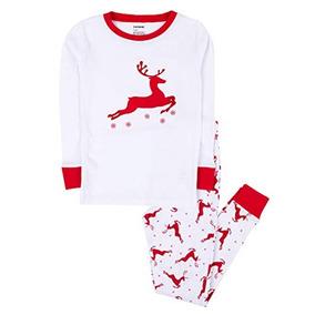 Pijama Reno Blanco Leveret 14 Anos