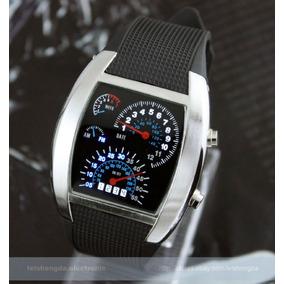 Reloj Led Aviation Tipo Velocímetro Novedoso Envio Gratis