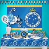 3550538c9098d Faixa Feliz Aniversário Para Festa Do Cruzeiro Esporte Clube