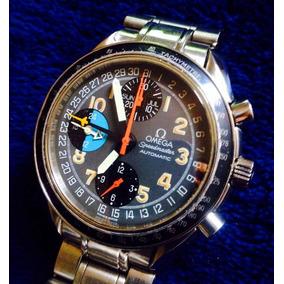 2a4639900a8 Omega Speedmaster Day Triple Date Crono 8 Ponteiros Mk 40