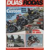 Duas Rodas N°372 Honda Cbr 1000rr Shadow 750 Drag Star 650