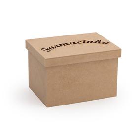 Farmacinha P - Lisa - Tampa Caixa De Sapato - Modelo 1
