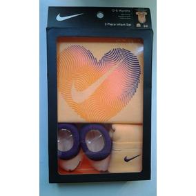 Nike Heart Pañalero 3pc Infant Set Bo $599 Nuevo Sopormike
