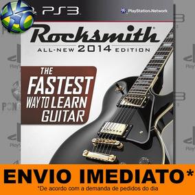 Jogo Rocksmith 2014 Edition - Promoção Pronta Entrega Ps3